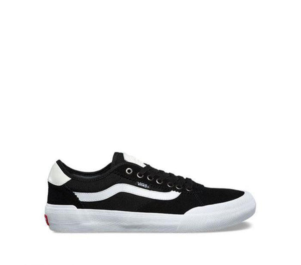 Vans Chima Pro 2 Suede Canvas Black White VNA3MTIIJU Famous Rock Shop Newcastle, 2300 NSW. Australia .1