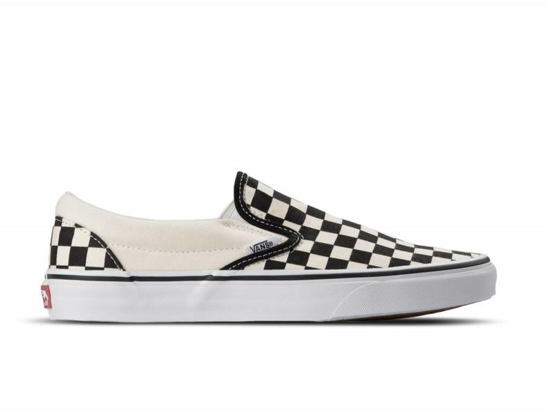 d9ab1d72a4 Vans Classic Slip-On Bi Black  amp  White Checkerboard AU199178 Famous Rock  Shop Newcastle