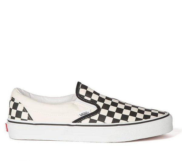 Vans Classic Slip-Ons Checkerboard VN-000EYEBWW Famous Rock Shop Newcastle, 2300 NSW. Australia. 1