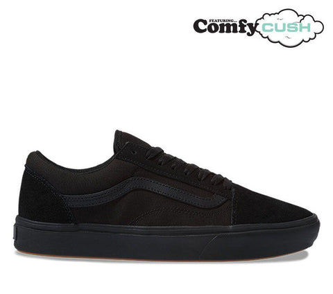 Vans Comfycush Old Skool Black Black VN0A3WMAVND Famous Rock Shop Newcastle, 2300 NSW. Australia. 1