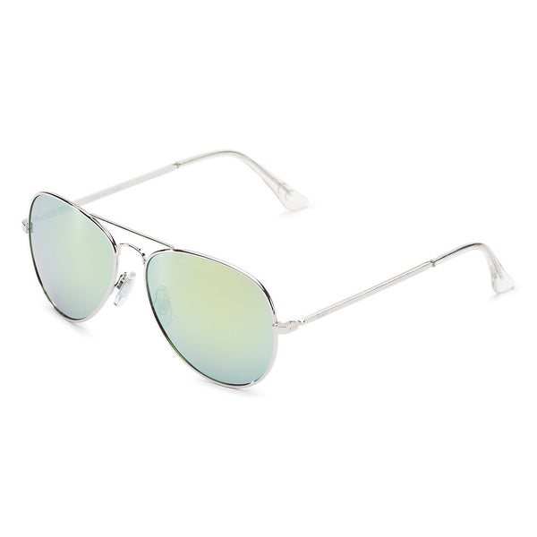 5a0f7d882e Vans Fly South Aviator Sunglasses Silver VN0A2XBRSLV – Famous Rock Shop
