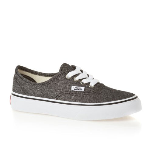 c8600408634 Vans Kids Authentic (Classic Chambray) Black Famous Rock Shop 517 Hunter  Street Newcastle 2300
