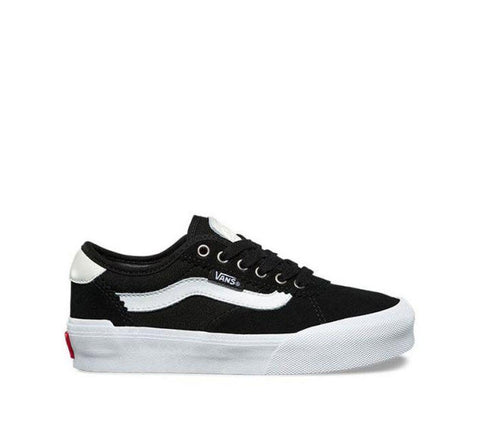 Vans Kids Chima Pro 2 Suede Black Canvas Black White VNA3MWCIJU Famous Rock Shop Newcastle, 2300 NSW. Australia. 1