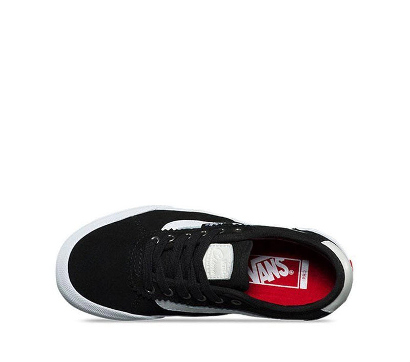 Vans Kids Chima Pro 2 Suede Black Canvas Black White VNA3MWCIJU Famous Rock Shop Newcastle, 2300 NSW. Australia. 2