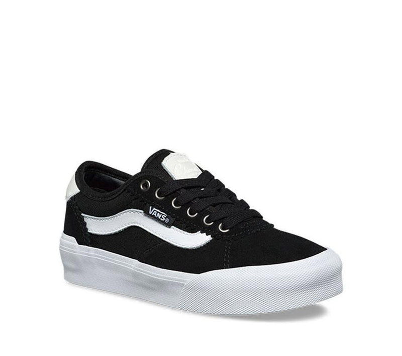 Vans Kids Chima Pro 2 Suede Black Canvas Black White VNA3MWCIJU Famous Rock Shop Newcastle, 2300 NSW. Australia. 3