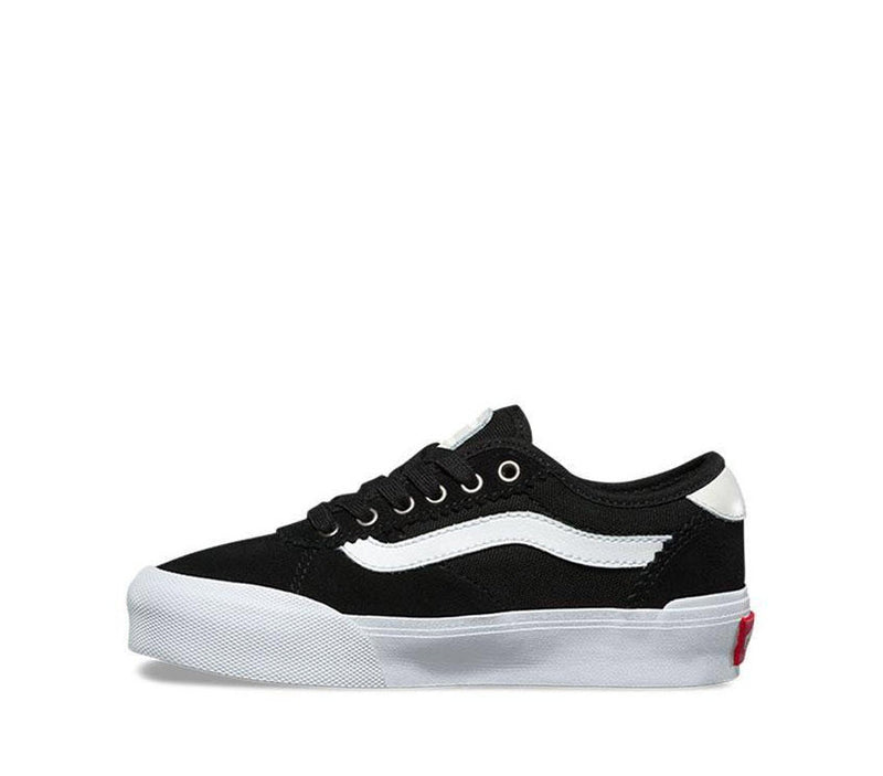 Vans Kids Chima Pro 2 Suede Black Canvas Black White VNA3MWCIJU Famous Rock Shop Newcastle, 2300 NSW. Australia. 4