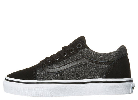 Vans Kids Old Skool Suede Black Grey Shoe VN0A38HBOSN