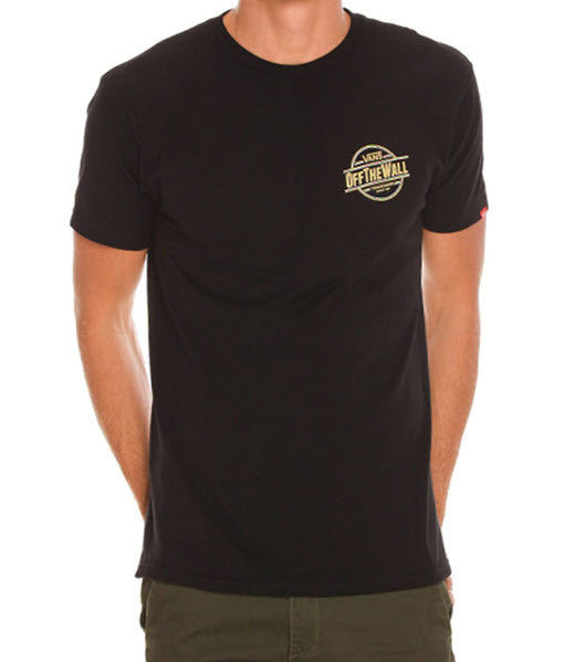 Vans Men's All Natural T-Shirt VN-00RJBLK  Famous Rock Shop Newcastle 2300 NSW Australia