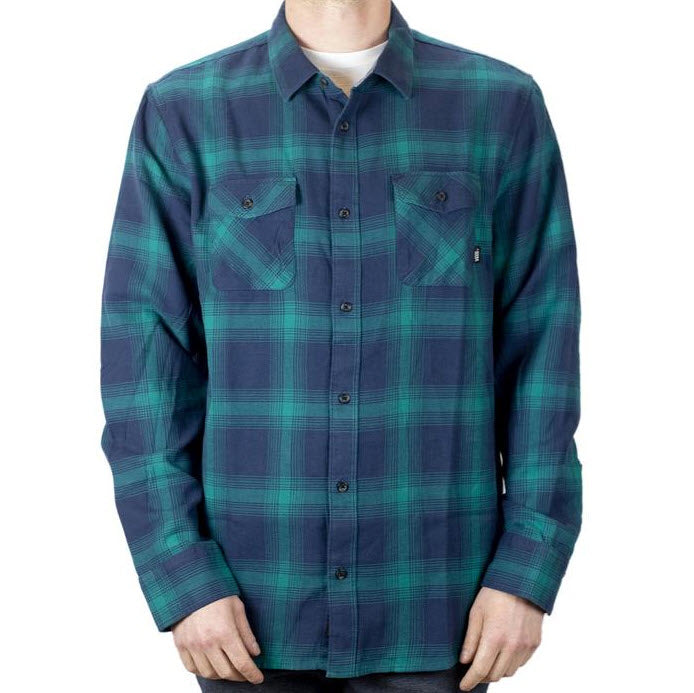 Vans Monterey III Flannel Shirt Dress Blue VN0A3HL3TDK Famous Rock Shop Newcastle, 2300 NSW. Australia. 1