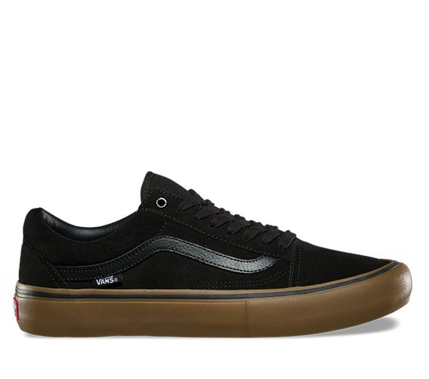9f34d14cbdd Vans Old Skool Pro Black Gum VN000ZD4OUH shoe Famous Rock Shop 517 Hunter  Street Newcastle 2300 ...