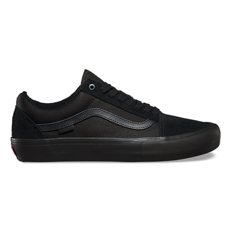 Vans Old Skool Pro VN-0ZD41OJ Blackout Canvas Suede  Famous Rock Shop. 517 Hunter Street Newcastle, 2300 NSW Australia