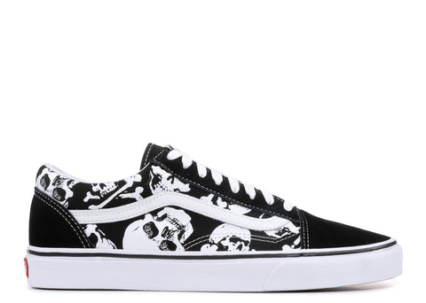 Vans Old Skool Skull Black True White VN0A38G1H0B Famous Rock Shop Newcastle 2300 NSW Australia