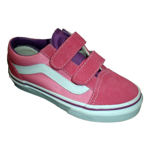 Vans Toddler Old Skool V (2 Tone) Pink Purple