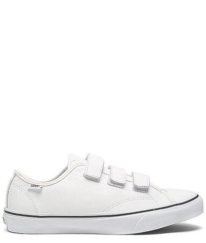 Vans Prison Style 23 V True White Leather