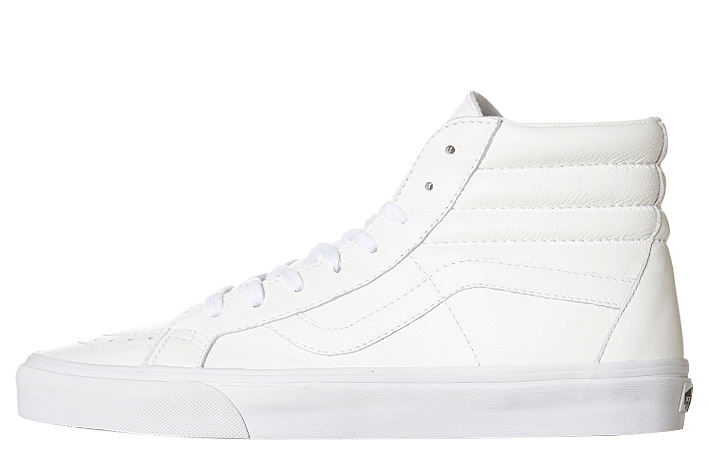 cd58c67be3 Vans SK8 HI Reissue ( Premium Leather ) - True White VN-0ZA0EWB – Famous  Rock Shop