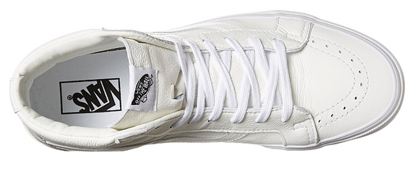 f81a6d039c ... Vans SK8 HI Reissue ( Premium Leather ) - True White VN-0ZA0EWB ...