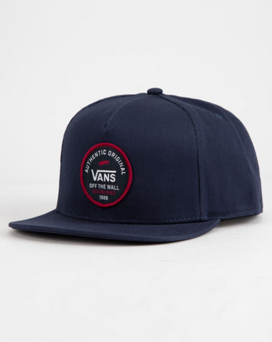 Vans SVD Original Snapback Dress Blue VN0A3I1ALKZ Famous Rock Shop Newcastle, 2300 NSW Australia. 1