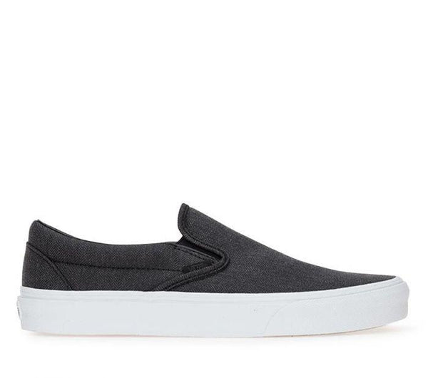 aa1c714c61 Vans Slip On Herringbone Black True White VNA38F7QCZ – Famous Rock Shop