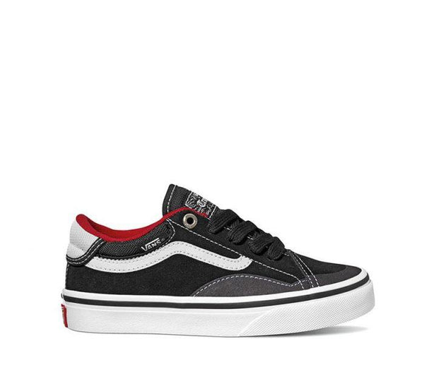 1bc5620252 Vans Kids TNT Advanced Prototype Black White Red VNA3TLDBWT – Famous Rock  Shop