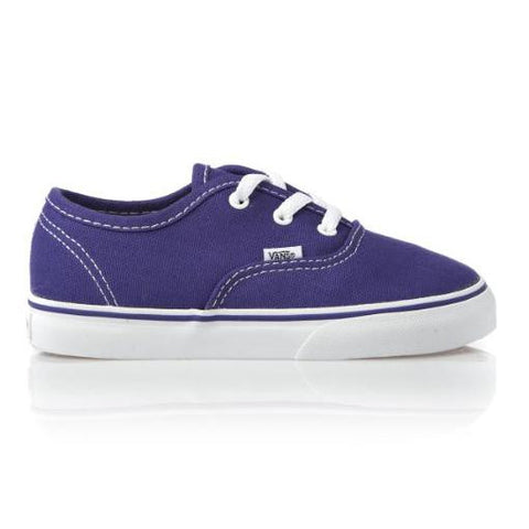 Vans Toddler Authentic Purple Iris True White
