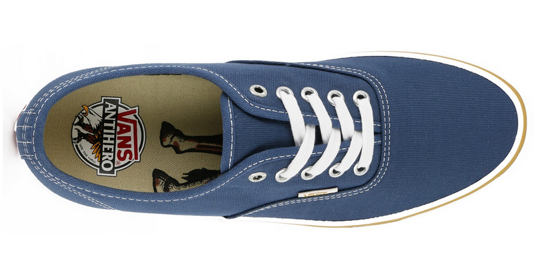 Vans X Anti Hero Authentic Pro Blue/Stranger VN-0Q0DGNPFamous Rock Shop  517 Hunter Street Newcastle 2300 NSW. Australia