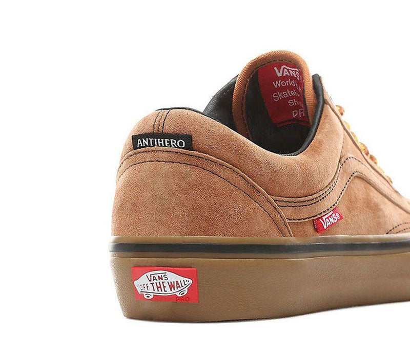 Vans X Anti Hero MN Old Skool Pro Cardiel Camel VN0A45JCVG0 Famous Rock Shop Newcastle, 2300 NSW. Australia. 4