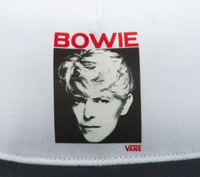 Vans X David Bowie Serious Moonlight Trucker Hat VNA3I4FYB2 Famous Rock Shop Newcastle, 2300 NSW. Australia. 4