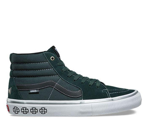 Vans X Independent SK8-HI PRO Spruce VN00VHGU24 Famous Rock Shop Newcastle, 2300 NSW. Australia. 1