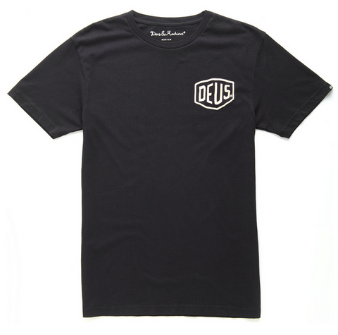 Deus Venice CA. Address Tee Black D1808