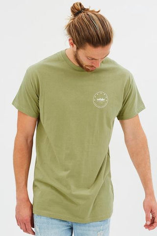 WNDRR Supreme Custom Fit Tee Khaki Green W17JA003KHAM