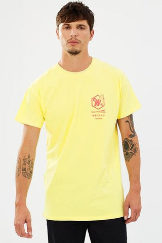 WNDRR Sushi Palace Custom Fit Tee Yellow W17JA008YELS