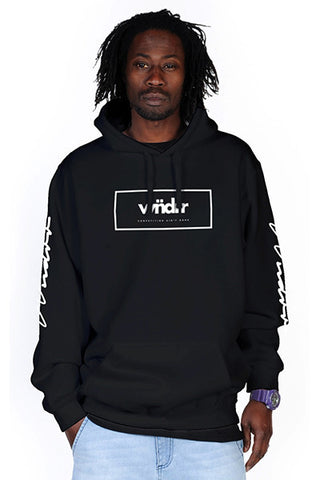WNDRR Day N Nite Hood Sweat Black
