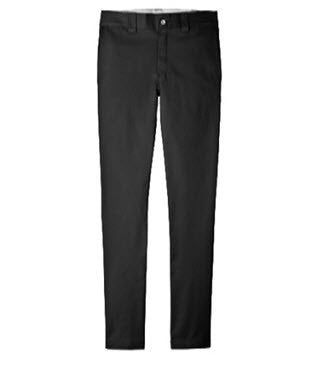 Dickies 803 Slim Skinny Straight Fit Black Work Pants