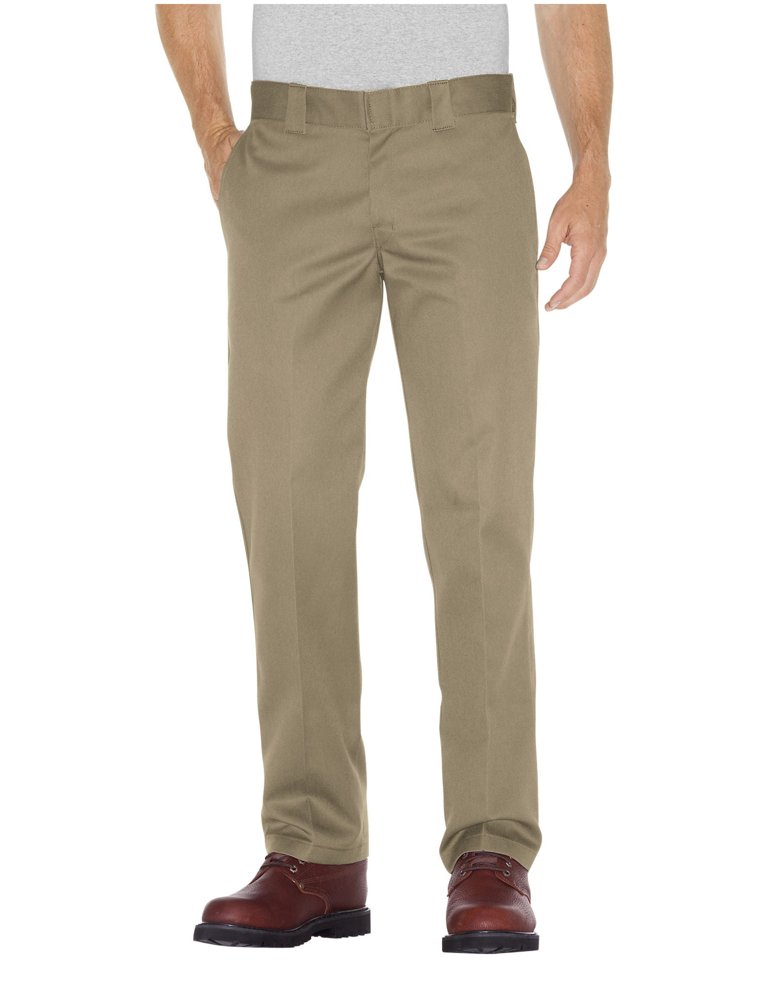6193623fe85 Dickies WP 873 Slim Straight Work Pants Khaki – Famous Rock Shop