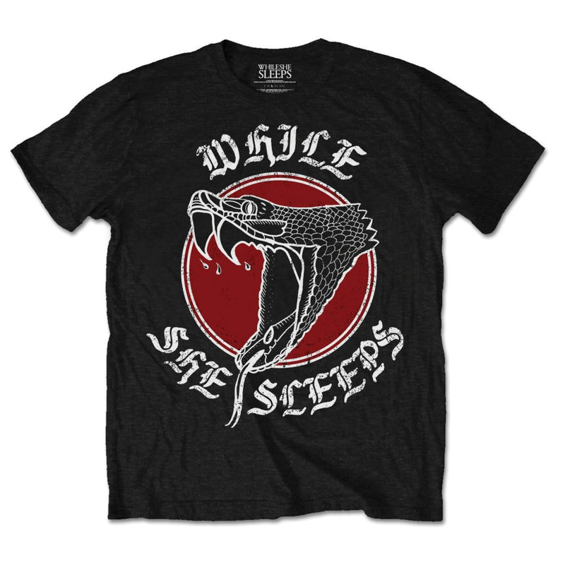 While She Sleeps T Shirt: Snake  Famous Rock Shop Newcastle 2300 NSW Australia