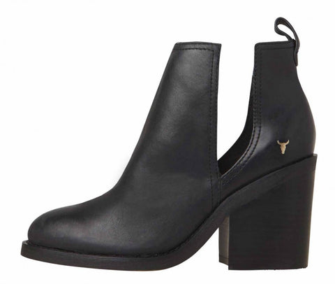 Windsor Smith Sharni Black Leather Boots