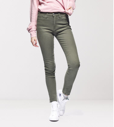 Ziggy Denim Sticks and Bones Jeans Army ZW-1237