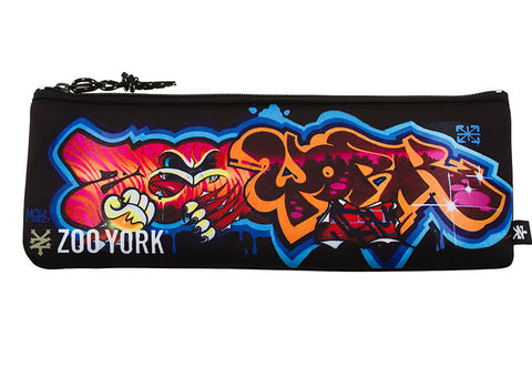 Zoo York Damage Pencil Case Black ZY-MAD7128