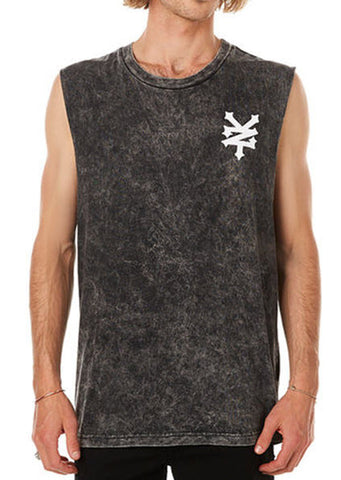 Zoo York Gruen Muscle Tee - Acid Black
