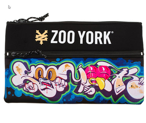 Zoo York Kaos Pencil Case Black ZY-MAD7129