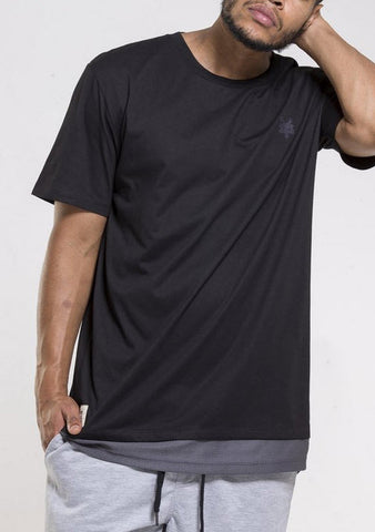 Zoo York Stealth Tall Tee Jet Black