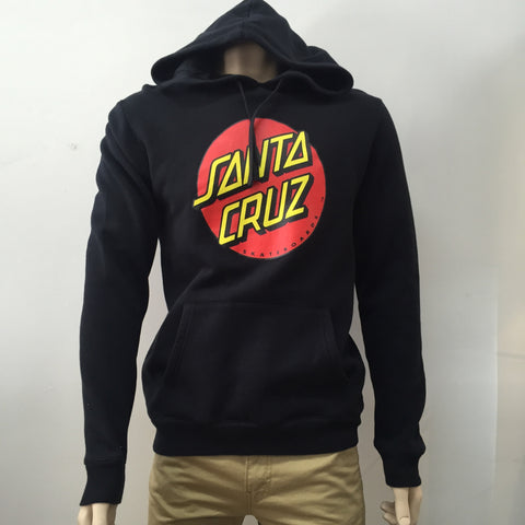 Santa Cruz  Big Dot Hoodie Black 1372