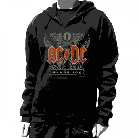 ACDC Pullover Hoodie Black Ice Unisex