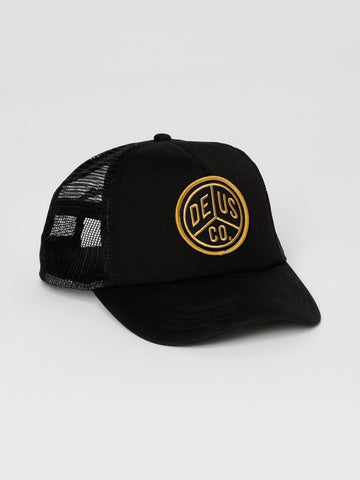 Deus Peace Trucker Cap Black