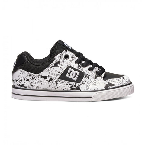 DC Shoes Teen 10-16 Pure X AT Adventure Time Collaboration Skate Shoe