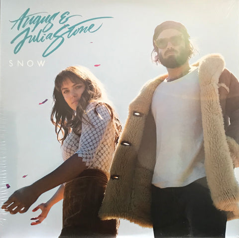 Angus & Julia Stone Snow Indie Exclusive Clear 2 LP Vinyl