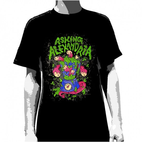 Asking Alexandria T-Shirt Blender Men's Famous Rock Shop Newcastle NSW Australia
