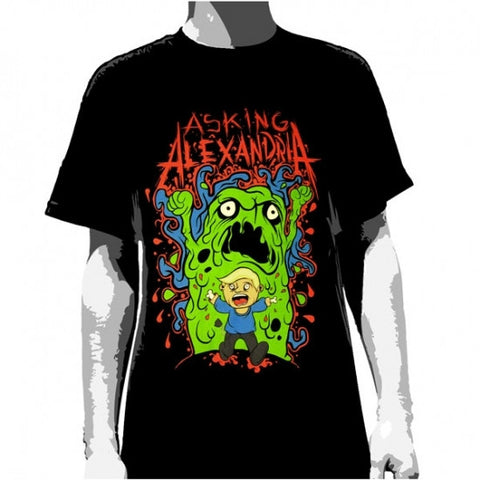 Asking Alexandria T-Shirt Run! - Men's Famous Rock Shop Newcastle NSW Australia