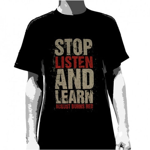 August Burns Red - Stop, Listen and Learn  Famous Rock Shop Newcastle 2300 NSW Australia