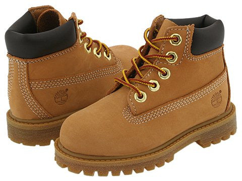 Timberland Toddlers 6IN Premium Wheat Nubuck